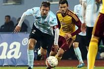 Fotbalisté Ústí (bílo-modří) doma v poháru podlehli pražské Dukle 0:3.