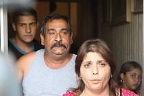 Rodina otce unesené dívky.