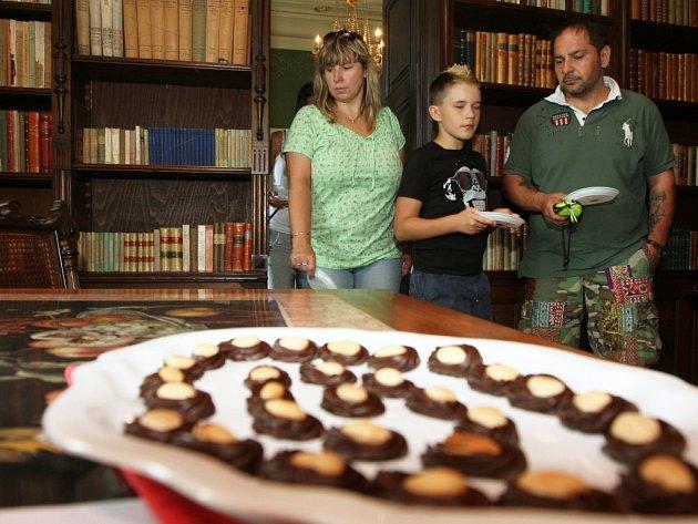 Velkobřezenský zámek lákal i na čokoládu.