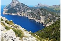 Pobřežní scenérie od Dany Valešové. Mallorca 2013, Formentor.
