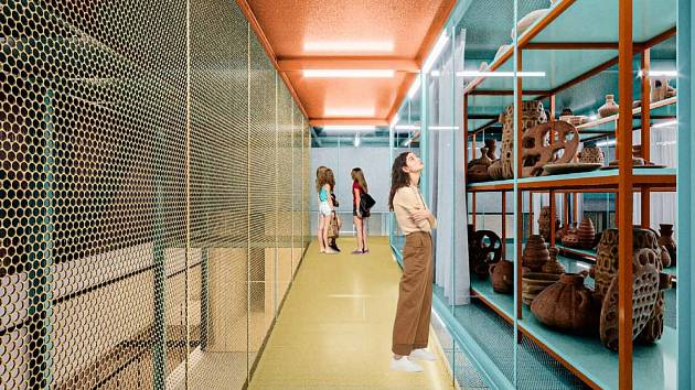 Tak by to mohlo vypadat v novém depozitáři ústeckého muzea v opuštěné rozvodně