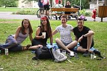 Akce Malý Hamburk v ústeckých Městských sadech. Neděle 25. července
