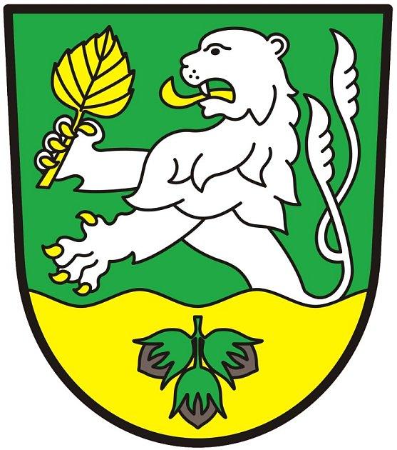 Nový znak Malého Března uÚstí nad Labem.