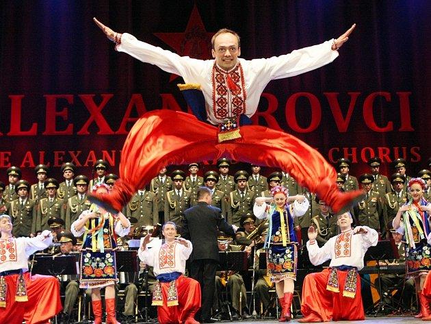 Slavní ruští Alexandrovci pobavili Ústí jako zamlada.