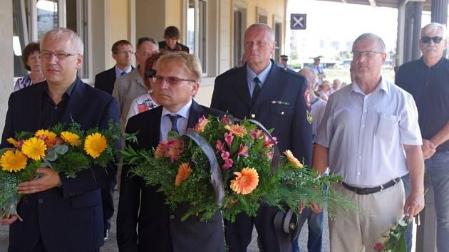 Na odbojáře Františka Zajíčka, nespravedlivě popraveného v roce 1954, vzpomínaly  osobnosti veřejného života v Ústí.