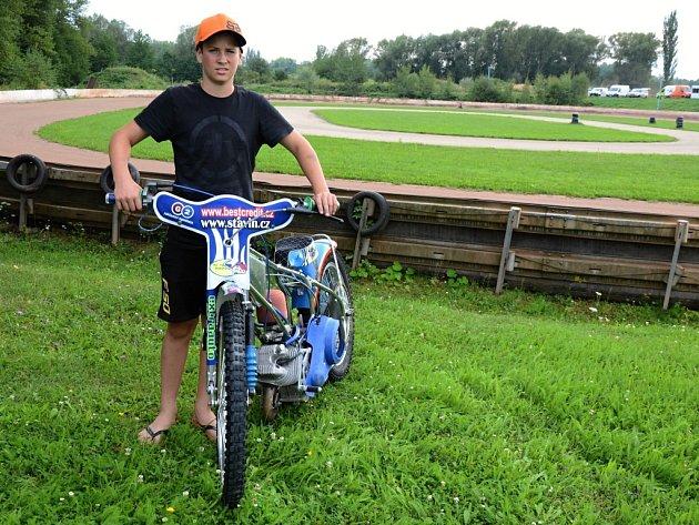 Patnáctiletý Adam z Chabařovic se probojoval na MS juniorů do Polska.