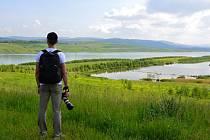 Jezero Milada se letos otevřelo pro veřejnost.