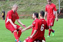 23 utkání v řadě měli fotbalisté Střekova důvod k jásotu. Prohra přišla v Pokraticích.