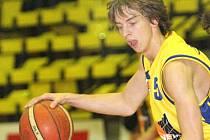 Talentovaný basketbalista BK Ústí Adam Žampach.