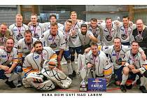 Elba DDM Ústí nad Labem na hokejbalovém poháru 2019.