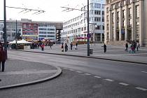 Dnešní podoba Mírového náměstí.