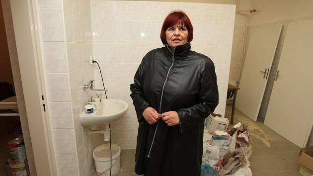 Manažerka azylového domu Vlasta Kopsová