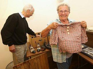 Muzejníci představili potomky německých obyvatel domu, kteří ho museli po válce opustit.
