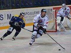 Hokejisté Slovanu Ústí nad Labem porazili Benátky nad Jizerou 4:3.
