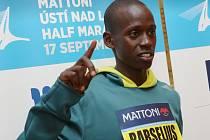 Největší hvězdy půlmaratonu se představily na tiskové konfenrenci.