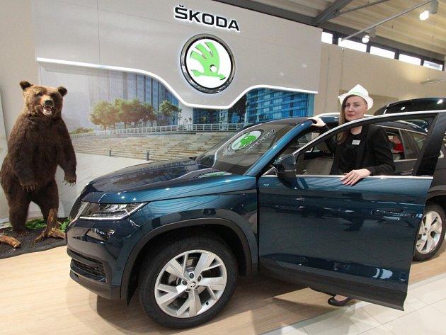 Škoda Kodiaq dorazila také do Ústeckého kraje.