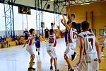 Basketbalisté Slunety Ústí n. L. v kategorii U14 o víkendu vstoupili do své soutěžně vítězně. V sobotu vyhráli v Chomutově, v neděli v Lounech.