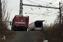 Pod Mariánskou skálou v Ústí našli ve čtvrtek 21. února mrtvé tělo