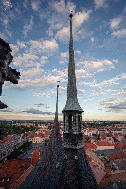 Pohled zochozu věže