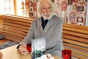 Teplice Pierre Richard v cukrárně Cukrkandl v Šanově - autogramiáda