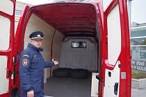Auto pomůže hasičům při živelných pohromách.