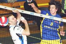 Nahrávač Filip Habr (vpravo) prožil letos v ústeckém dresu úspěšnou sezonu, SKV dotáhl až do čtvrtfinále play off.