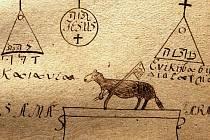 Podobnou knihu kouzel nejspíš mnich Ebenher použil k přípravě čarování na Mariánské skále.