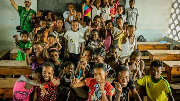 Madagaskar objektivem Marta Eslema.