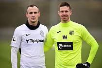 David Lischka (vlevo) a Jiří Pimpara si po operaci srdce zahráli proti sobě.