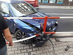 Další nehoda přímo před redakcí Ústeckého deníku.