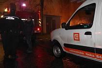 Za výbuchem a požárem trafostanice je pravděpodobně vysrážená vlhkost s následným zkratem na elektrickém vedení. Na místě zasahovali hasiči a městská policie.