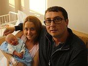 Nikolaj Hrib ml. se narodil Lucii Vysoudilové a Nikolaji Hribovi st. z Ústí nad Labem 2. října v 15.56 hod. v ústecké porodnici. Měřil 49 cm a vážil 3,25 kg.