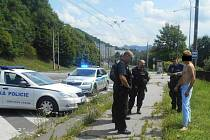 Strážníci zadrželi pacienta, který uprchl z psychiatrie.