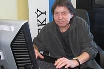 Roman Lád při online rozhovoru v redakci Ústeckého deníku.