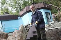 V ústecké zoo už začaly práce na nové expozici pro tučňáky. Náklady budou asi osm milionů korun.