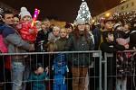 Děsiví čerti strašili v centru Ústí.