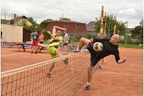 Nohejbalový turnaj v Chabařovicích.