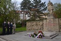 V Ústí nad Labem uctili památku obětí II. světové války.