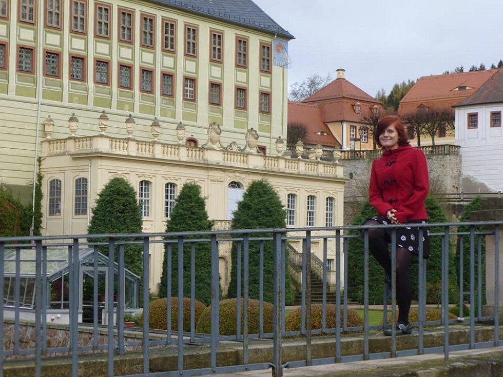 Zámek Weesenstein nabízí prohlídky i v češtině.