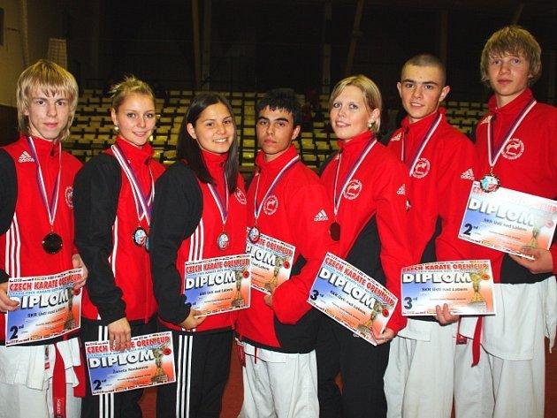 Karatisté ústeckého Shotokan Klubu Rajchert Sport Union byli  úspěšní.