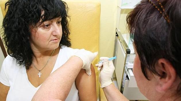 Očkování proti prasečí chřipce: Dana Vaculíková