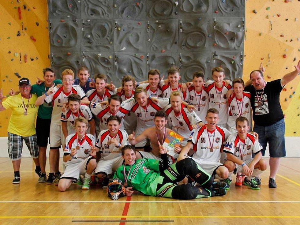 Ústečtí junioři vybojovali na mezinárodním turnaji Prague Games historické bronzové medaile.