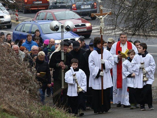 Velikonoce začaly cestou poutníků na Mariánku.