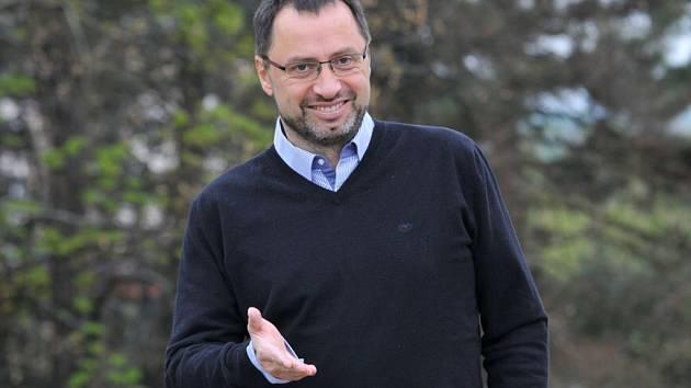 Hostem on-line rozhovoru byl Michal Kučera, lídr TOP 09 v krajských volbách