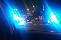 Na kruháči pod Větruší v sobotu havaroval motorkář.