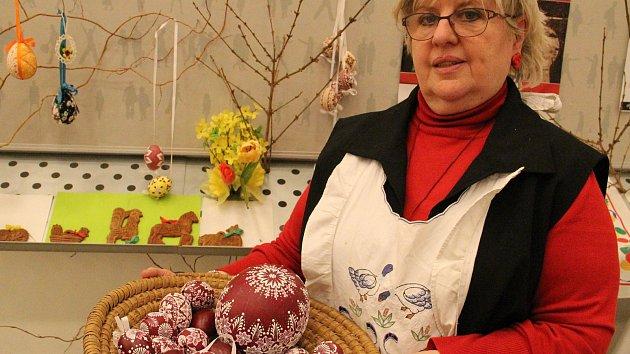 Výstava v Informačním centru lákala na originální velikonoční zboží