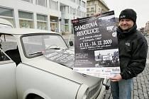 Trabant na náměstí zve na výstavu.