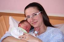 Adam Bogner, se narodil v ústecké porodnici dne 14. 4. 2013 (2.27) mamince Lence Bognerové, měřil 51 cm, vážil 3,64 kg.