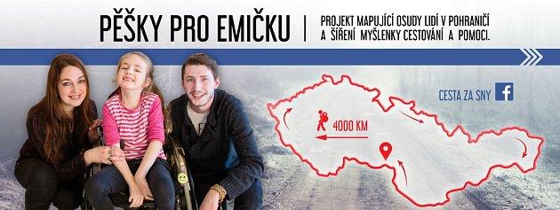 Celkem čtyři tisíce kilometrů po hranicích bývalého Československa chce nachodit cestovatel a fotograf Václav Malinský. Cestami pomáhá lidem, kteří neměli štěstí.