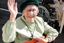 Anička Walterová oslaví neuvěřitelných 106 let.